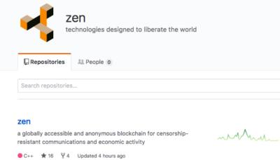 ZenCash github