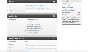 ovh server configuration