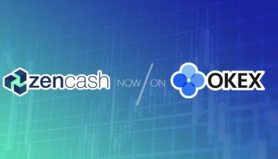 zencash listed on OKEx