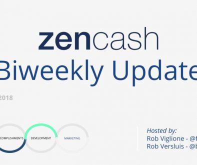 ZenCash Biweekly Summarized – March 21st 2018