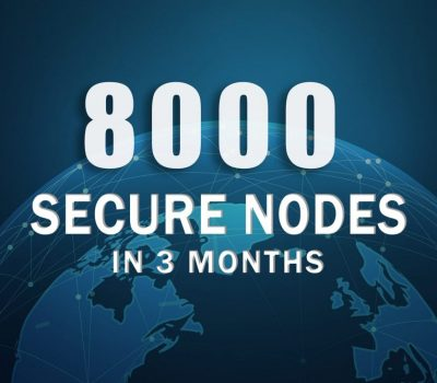 Featured image of the blog post zencash secure nodes milestone of 8000+ in 3 months