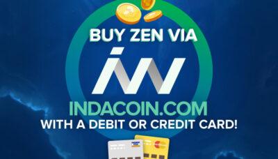 ZenCash-Indacoin-Announcement
