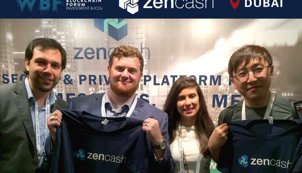 zencash at world blockchain forum in dubai featured cover