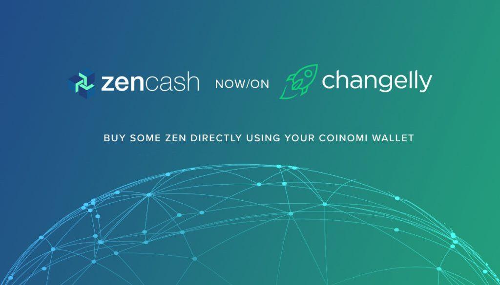 zencash now on changelly featured