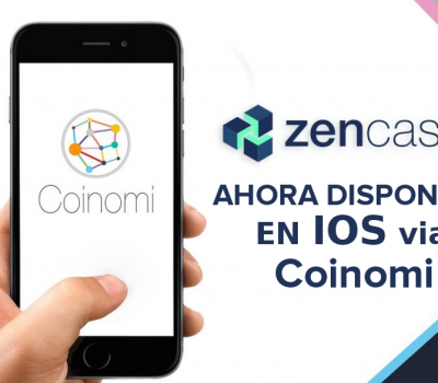 Zencash IOS Coinomi Cartera