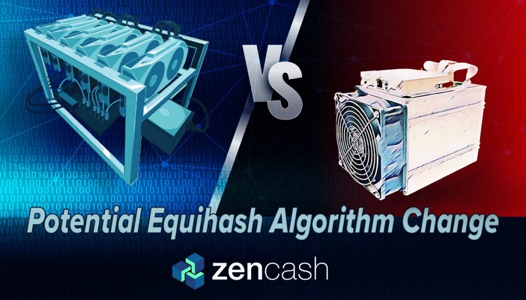 asic-vs-gpu Zencash Statement On Potential Algorithm Change