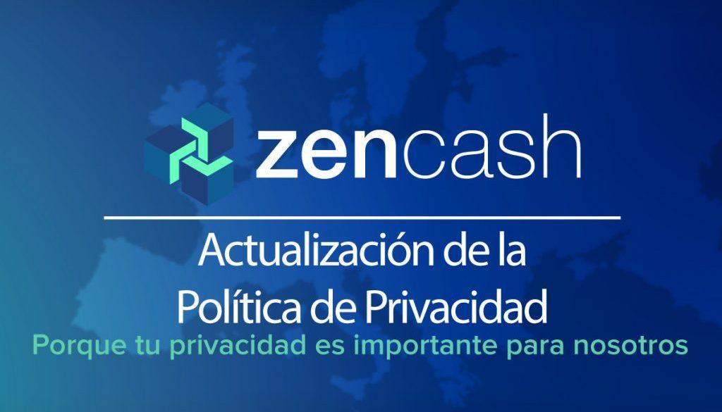 Actualización de Política de Privacidad