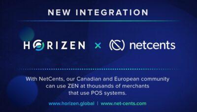 Horizen-NetCents-Integration