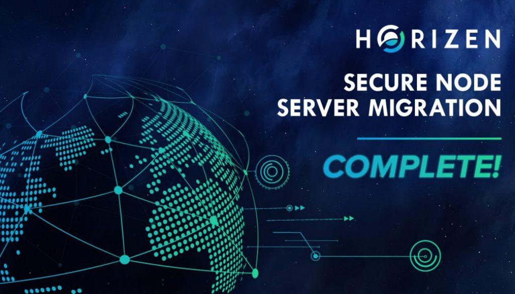 Horizen-Server-Migration-Complete