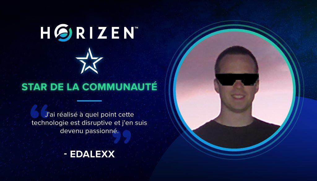 Edalexx french community star
