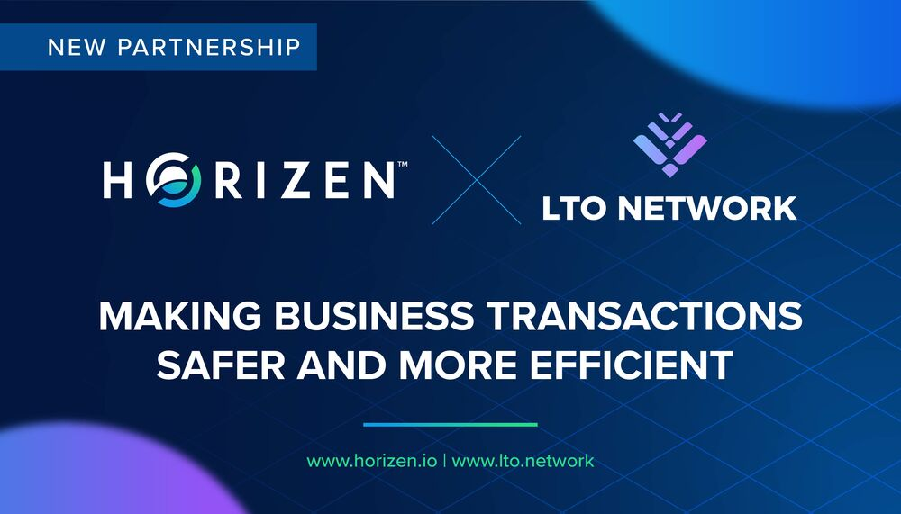 Horizen Partners with LTO Network to Make Business Transactions Safer and More Efficient - Horizen