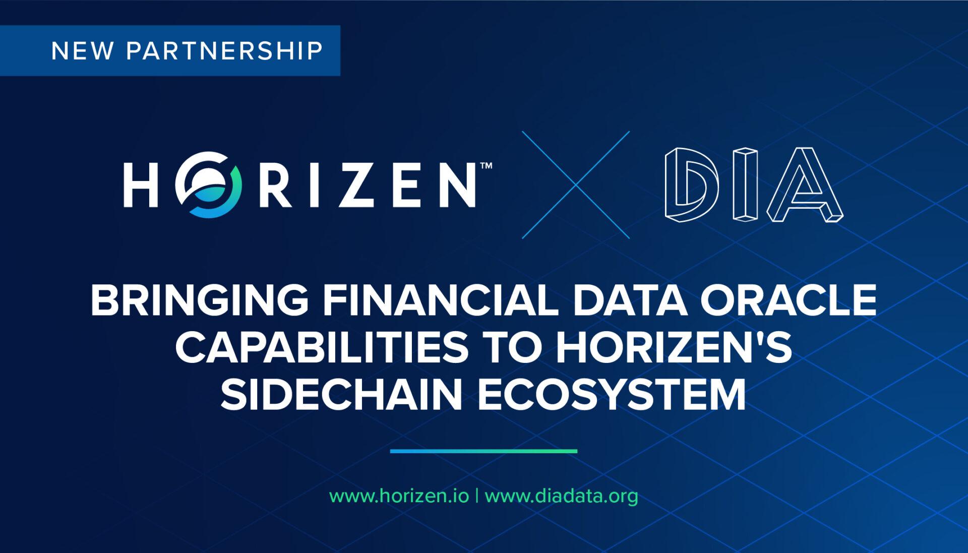 Horizen DIAData partner to bring financial data oracle capabilities to Horizen's ecosystem