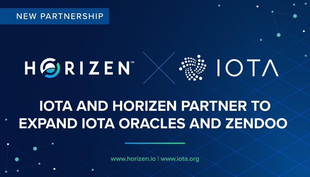 Horizen and IOTA Partner to Expand IOTA Oracles and Zendoo - Horizen