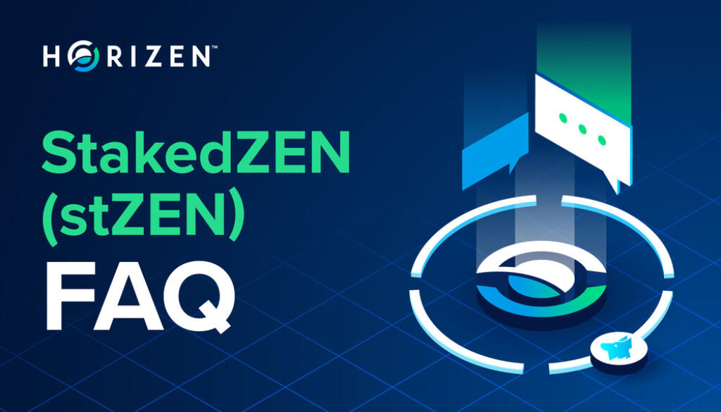 Horizen stZEN Frequently Asked Questions