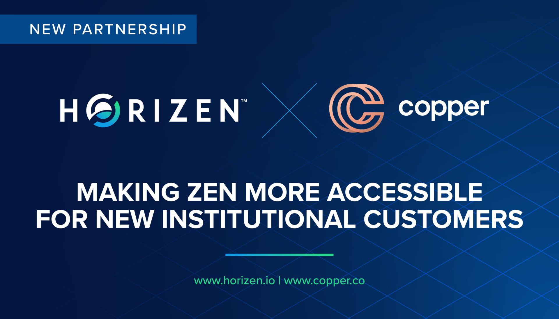 Horizen is now supported on Copper - Horizen